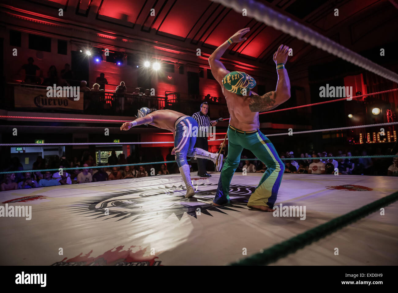 Lucha Libre Barcelona Mexican Wrestling Stock Photos And Mexican Wrestling Stock
