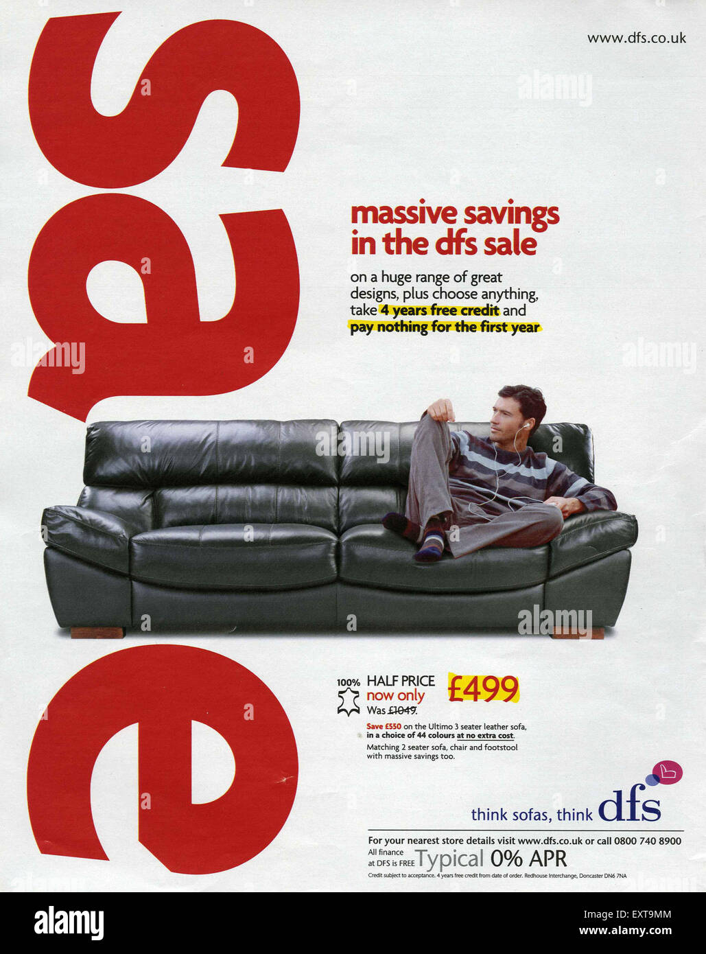 Dfs Advert High Resolution Stock Photography And Images Alamy