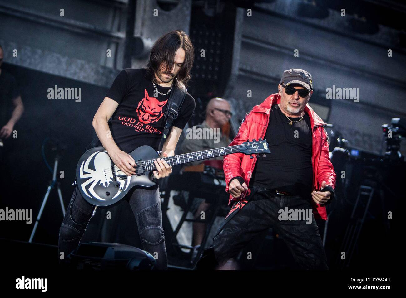 Bus Concerto Vasco Vasco Rossi Performs Live In Milan Roberto Finizio Alamy Live
