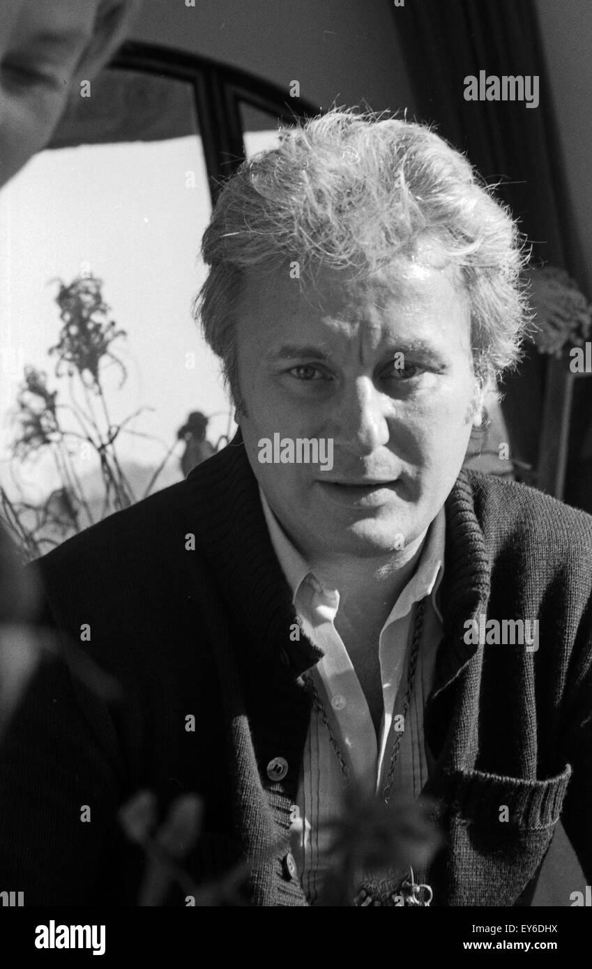 Die sterreichische schauspielerin maria schell mit ehemann veit relin deutschland 1970er jahre austrian