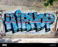 Hip-hop graffiti on wall with 'make it stop' in ...