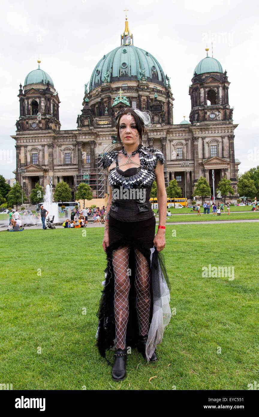 Berlin Gothic July 25 2015 2nd Berlin S Gothic Meeting At Lustgarten In