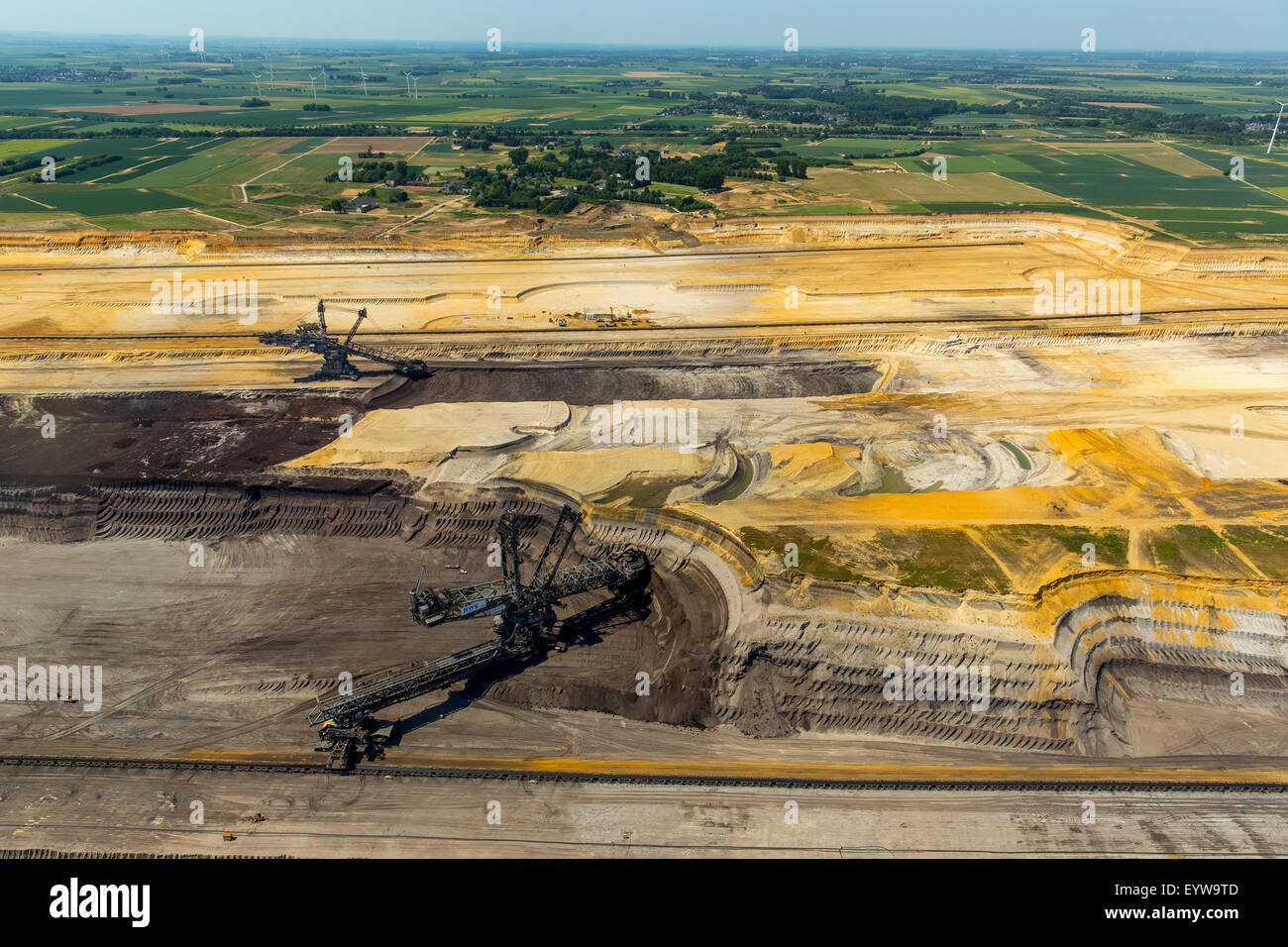Jüchen Plz Bucket Wheel Excavators Stock Photos And Bucket Wheel