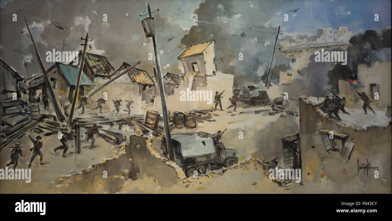 Arte Vietnam English War Art Stock Photos War Art Stock Images Alamy