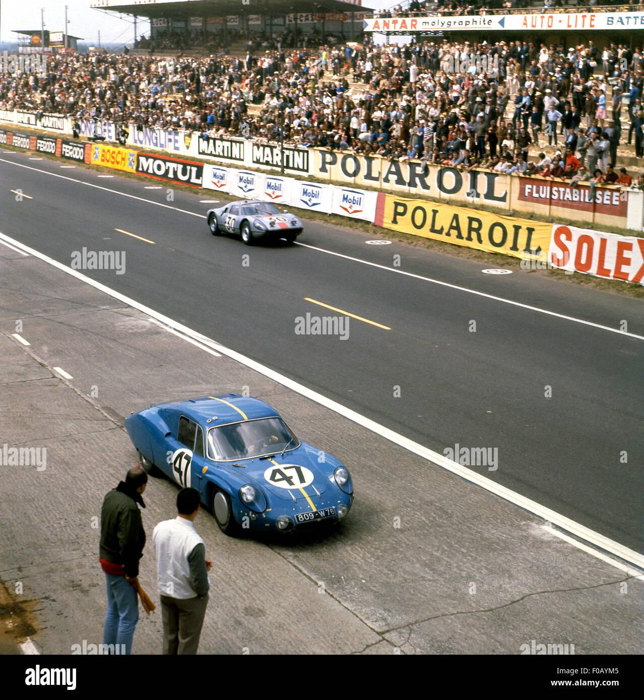 Car Dashboard Wallpaper Le Mans 24 Hours 1964 No 47 Mauro Bianchi Jean Vinatier