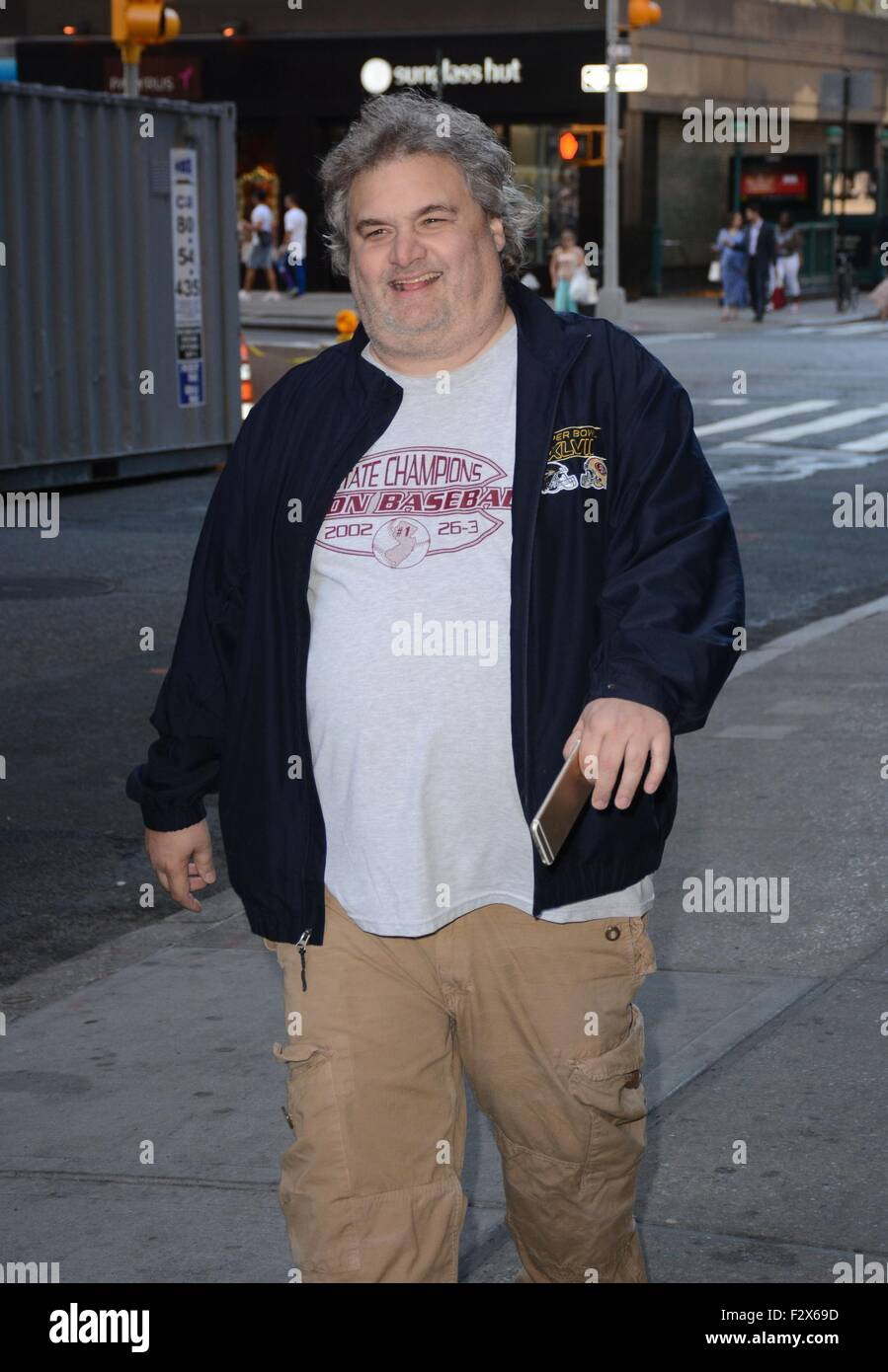 Artie Lange New York New York Ny Usa 24th Sep 2015 Artie Lange Out And About For
