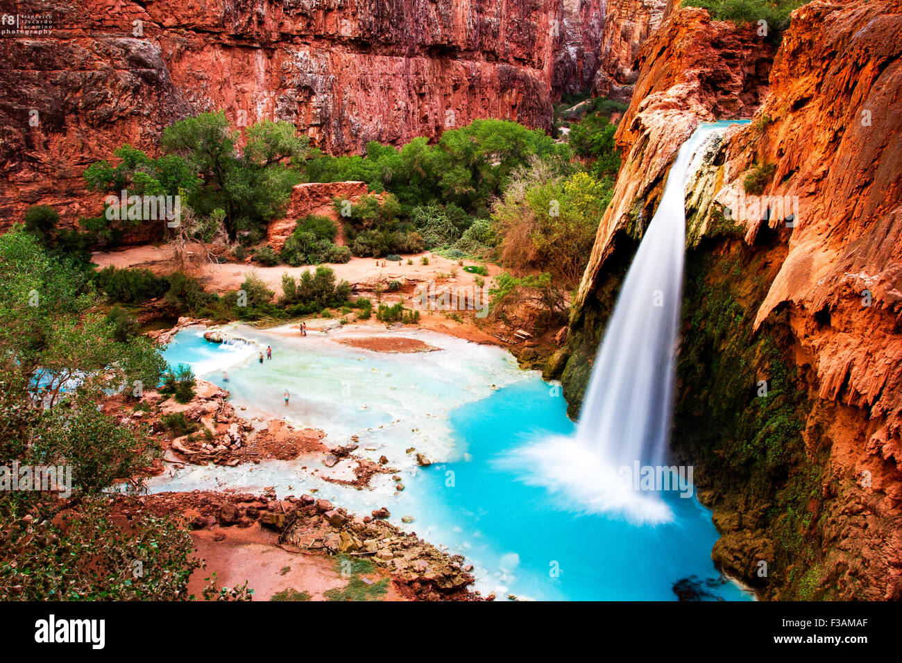 Beautiful Fall Location Wallpapers Havasupai Indian Reservation Havasu Fall Amazing