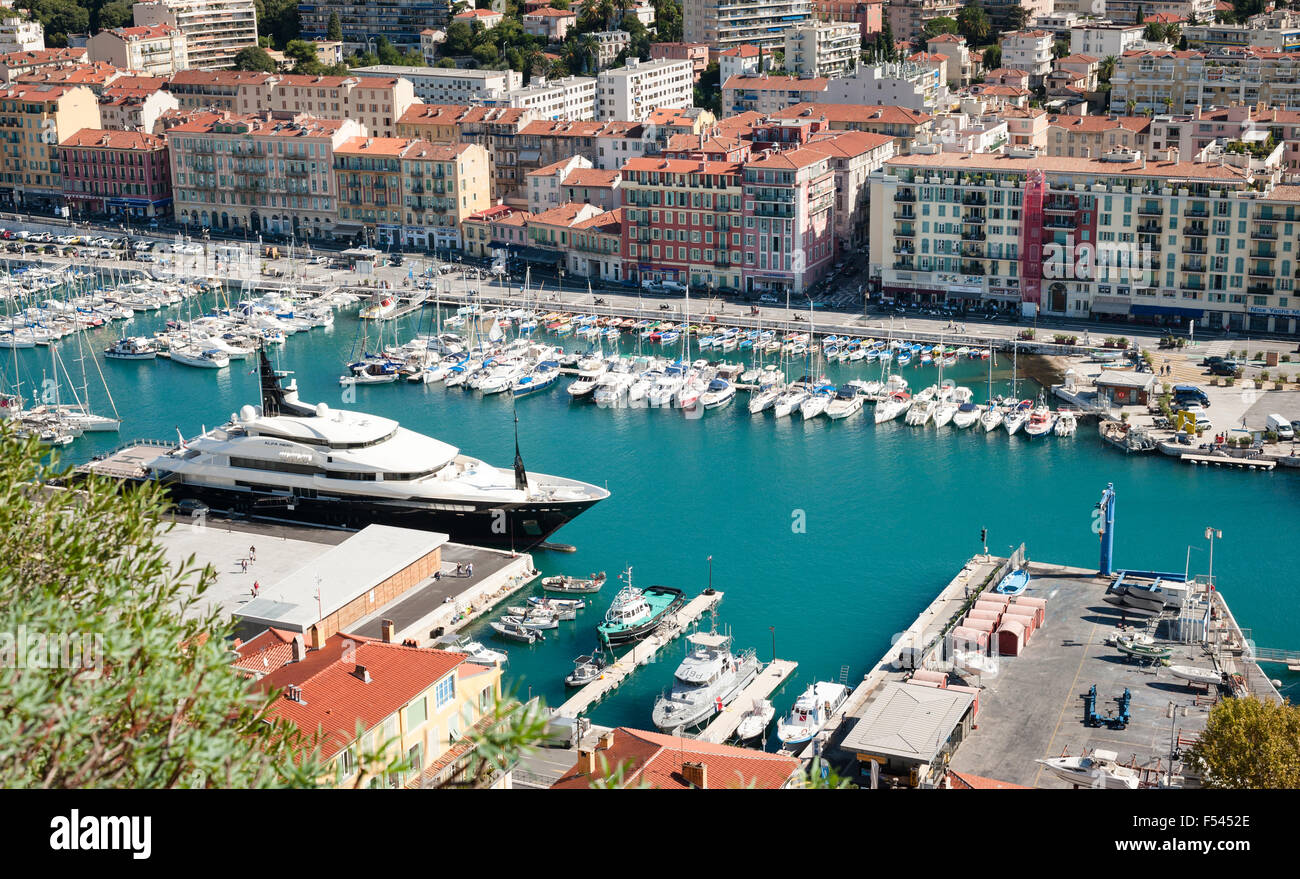 Nice Le Port Nice Nizza Port Le Stock Photos Nice Nizza Port Le Stock Images