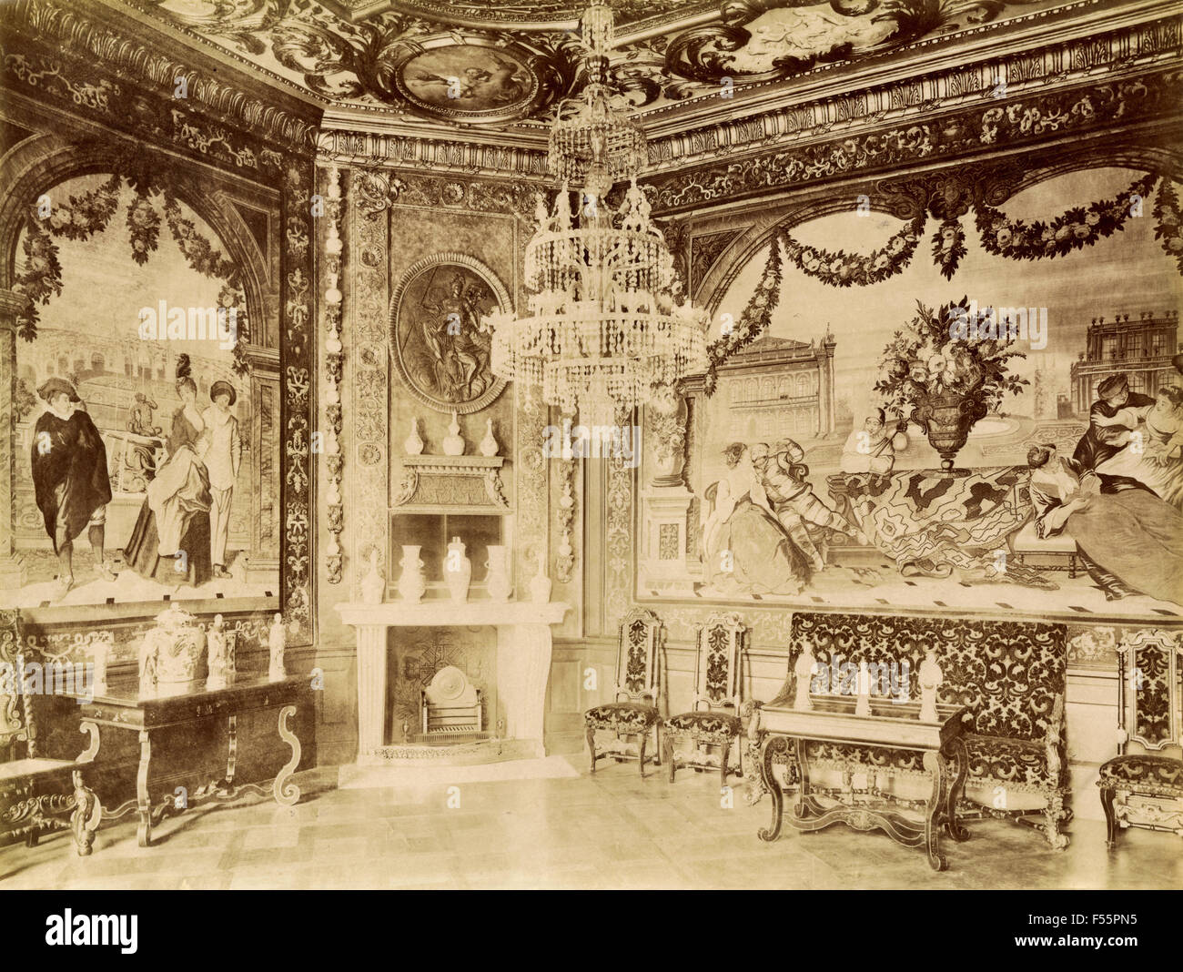 Interior Berlin Interior Of The Charlottenburg Palace Berlin Germany