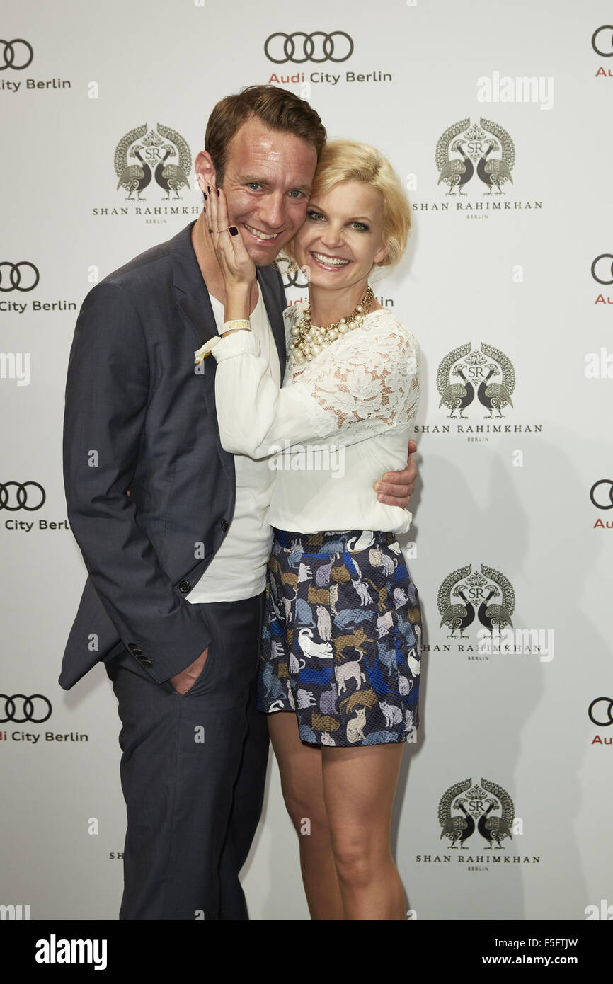 Shan Rahimkhan Berlin Red Carpet For True Berlin 3 By Shan Rahimkhan Party Featuring Stock Photo - Alamy