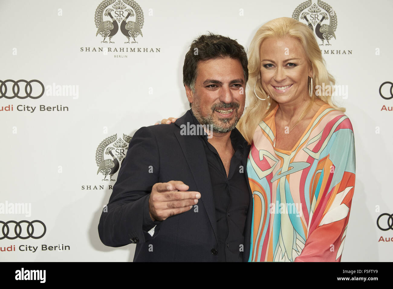 Shan Rahimkhan Berlin Red Carpet For True Berlin 3 By Shan Rahimkhan Party Featuring: Keld Stock Photo - Alamy
