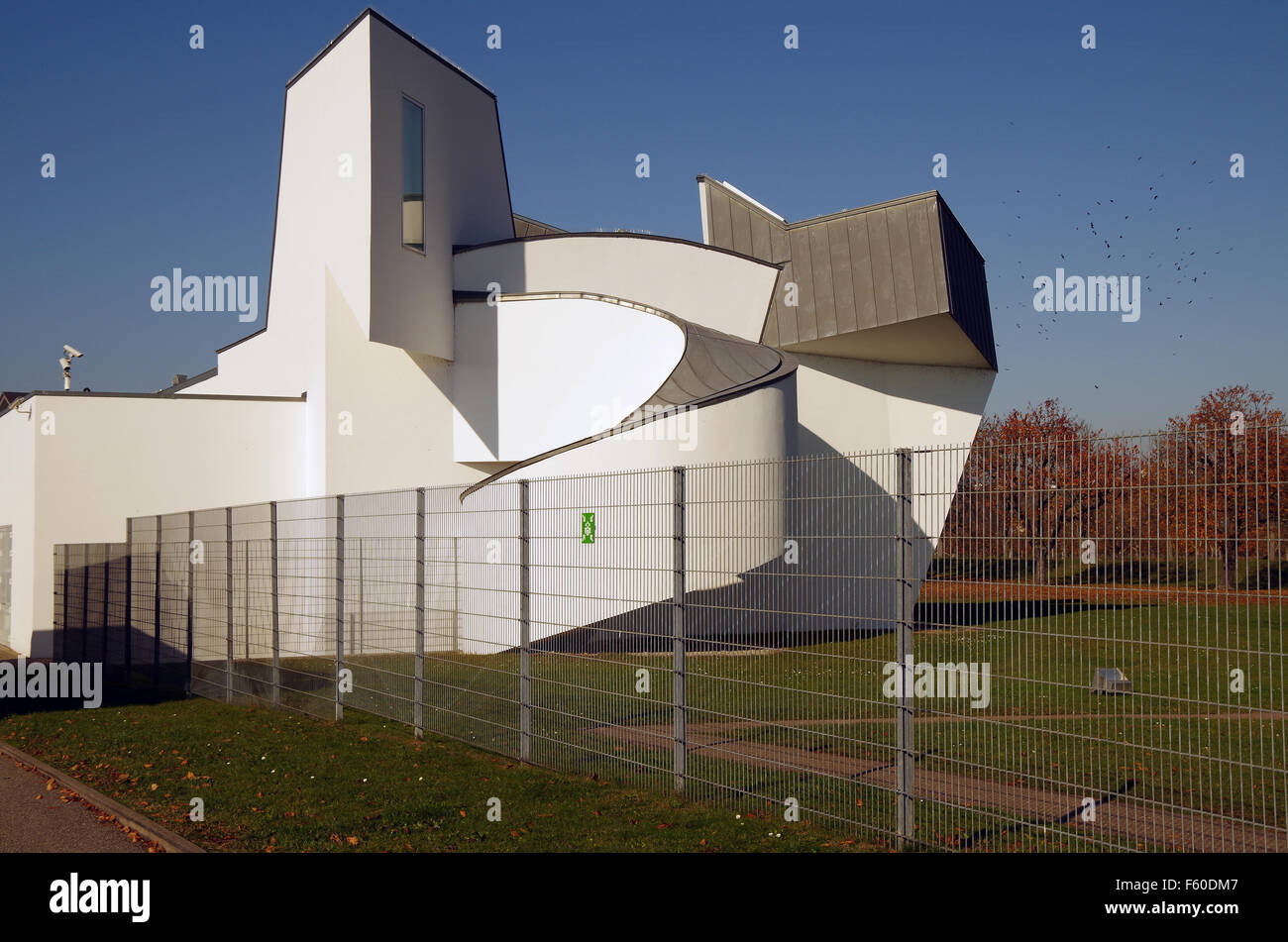 Vitra Design Museum Gallery Vitra Design Museum Gallery Gate Frank Gehry Stock Photo