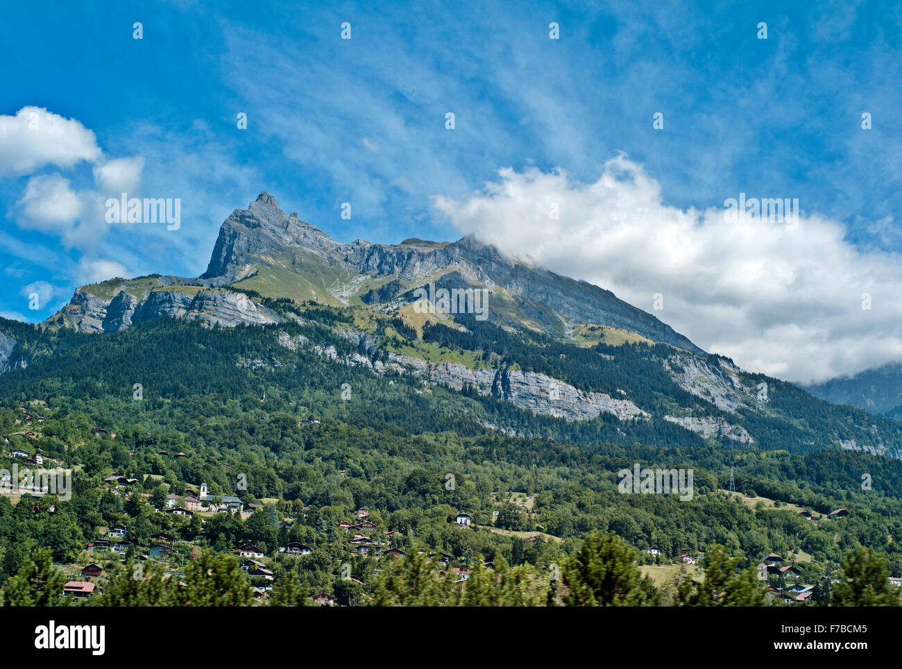 Office Tourisme Megeve Megeve France Alps Summer Stock Photos Megeve France Alps