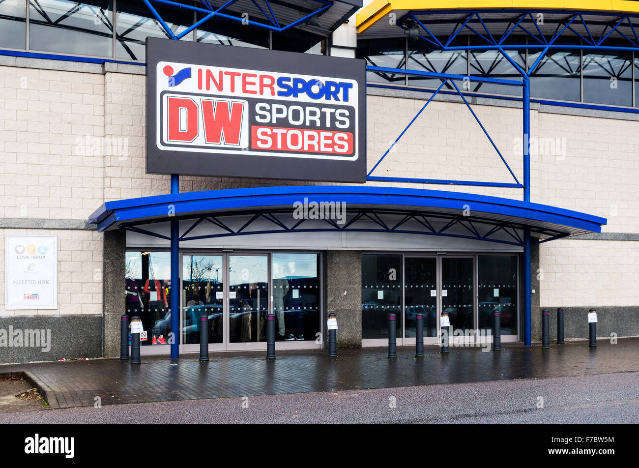 Dw Shop Sports Store Stock Photos Sports Store Stock Images Alamy