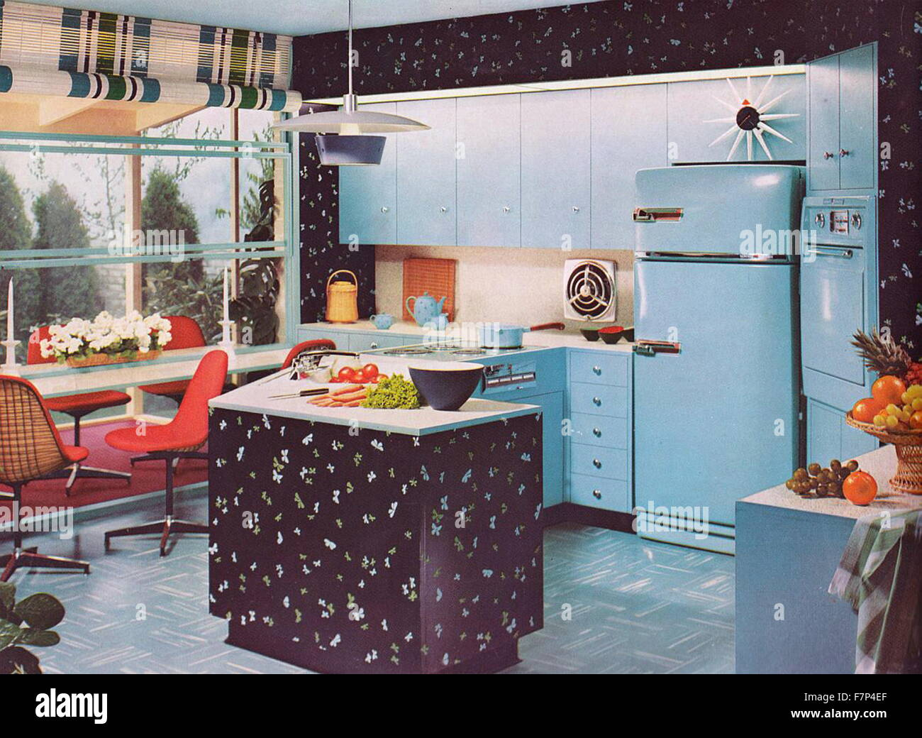 1950s Kitchen Design 1950s Kitchen Stock Photos 1950s Kitchen Stock Images Alamy