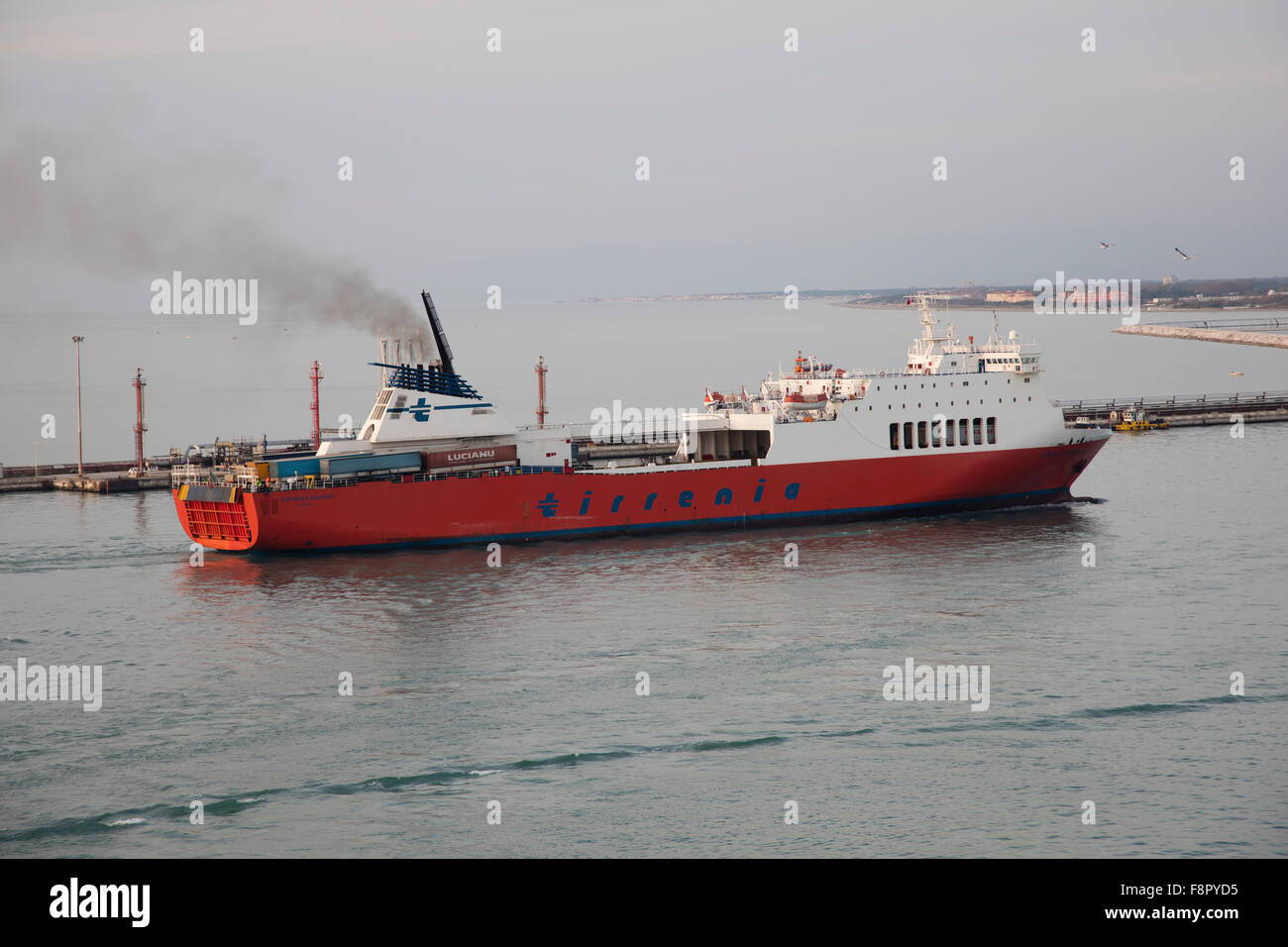 Livorno Olbia Ferry Tirrenia Stock Photos And Tirrenia Stock Images Alamy