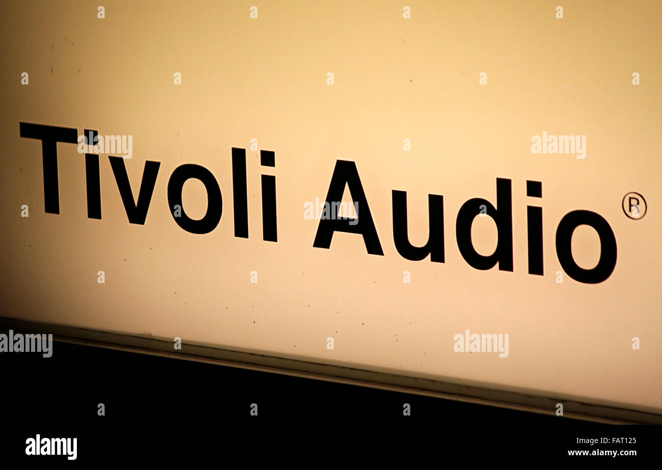 Tivoli Audio Yellow Markenname