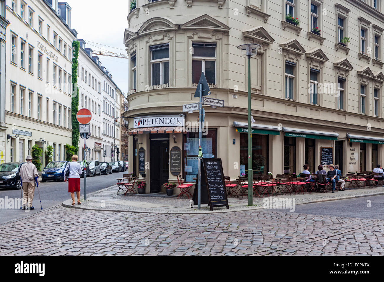 Sophieneck Bar And Restaurant Serving German Food Mitte Berlin Stock Photo Alamy
