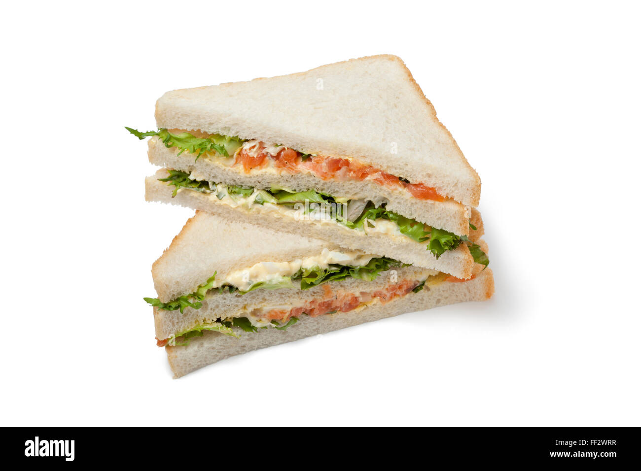 Egg Sandwich Cut Out High Resolution Stock Photography And Images Alamy