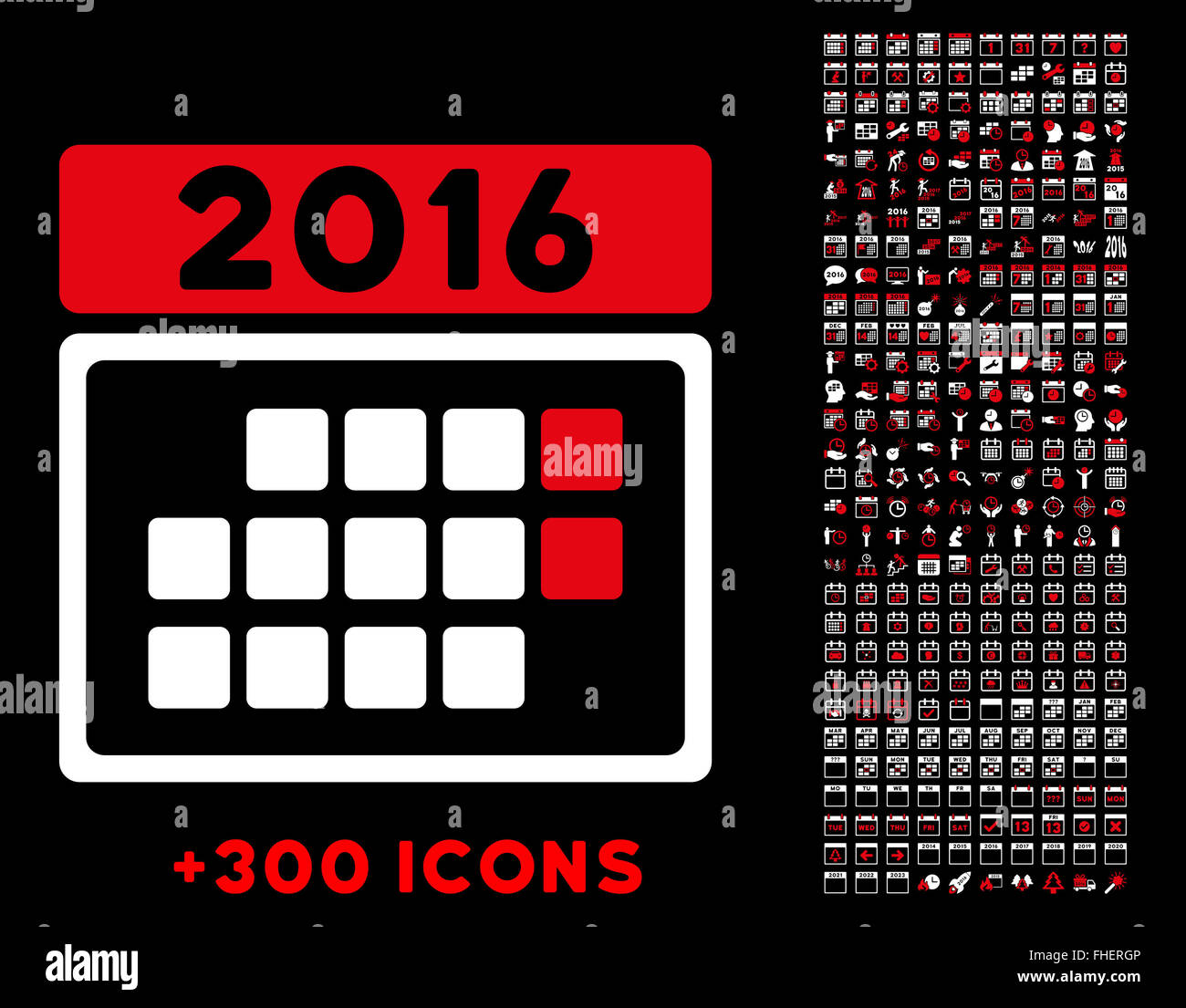 Organizer 2016 2016 Month Organizer Icon Stock Photo 96826822 Alamy