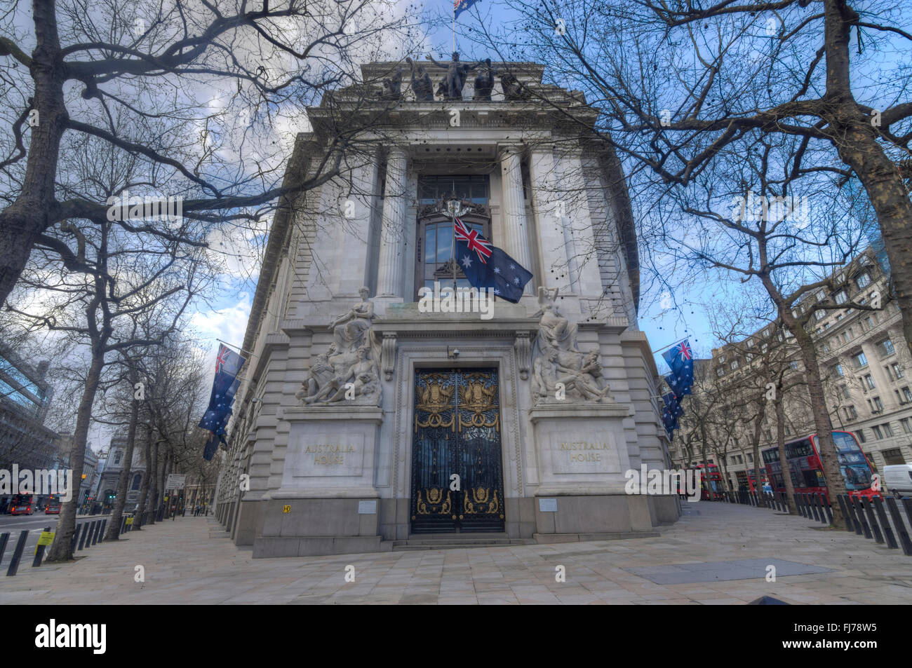 Australian Embassy Australian Embassy London Stock Photo 97276289 Alamy