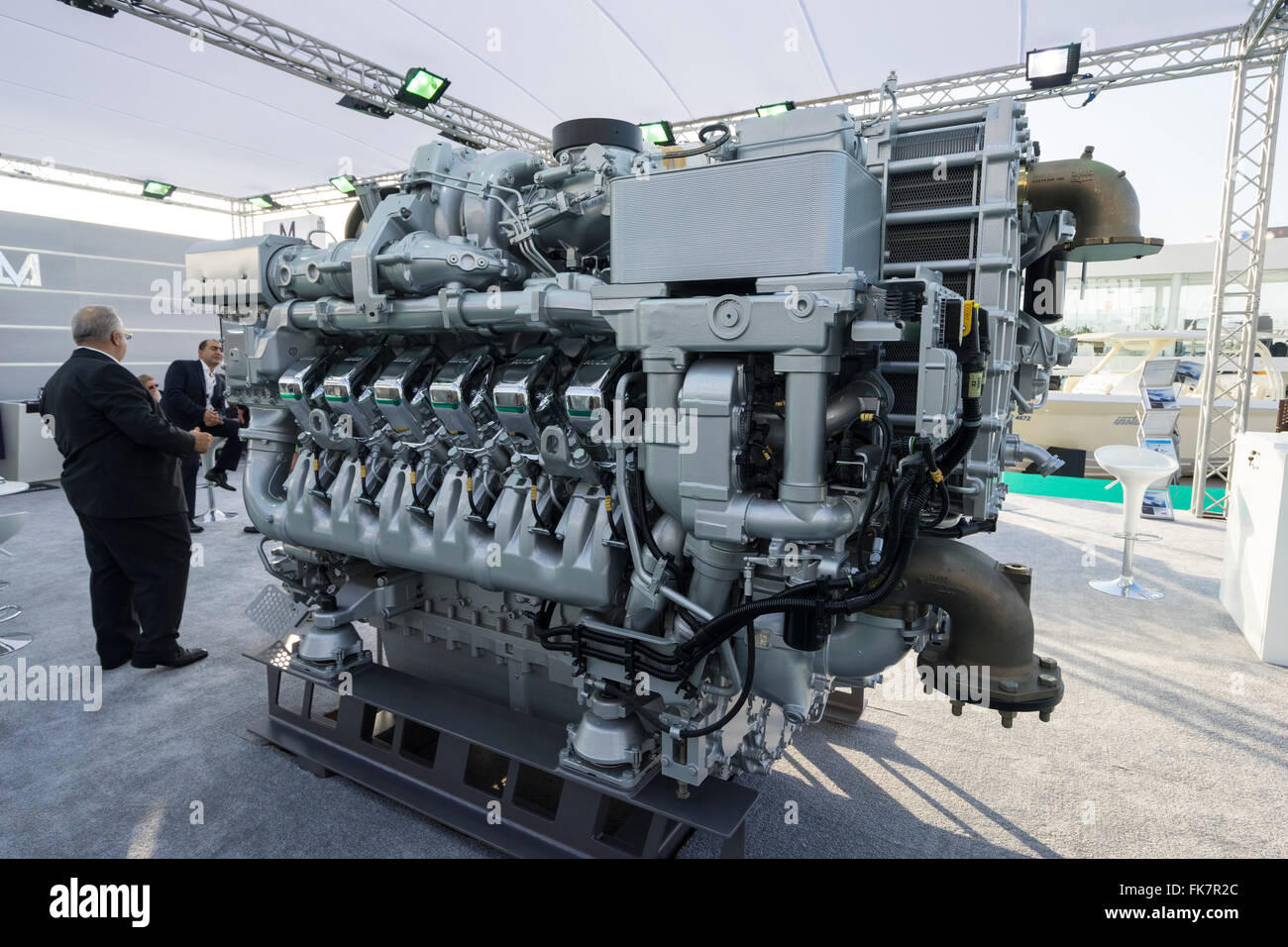 Litre Diesel Large 93 Litre Marine V12 Diesel Engine Manufactured By Mtu On