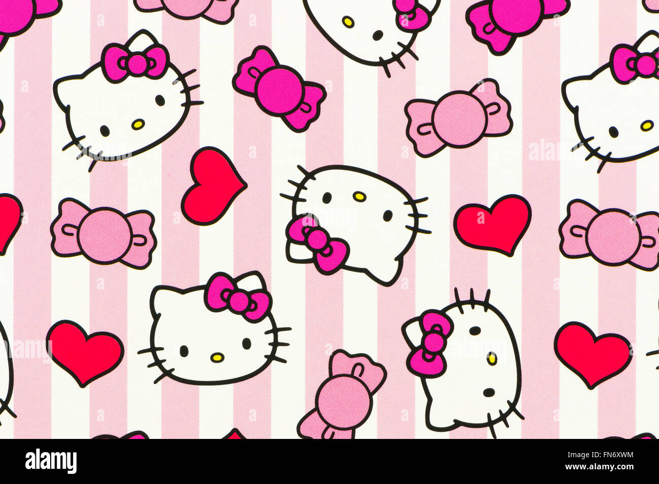 Cute Minnie Mouse Wallpaper Hello Kitty Stock Photos Amp Hello Kitty Stock Images Alamy