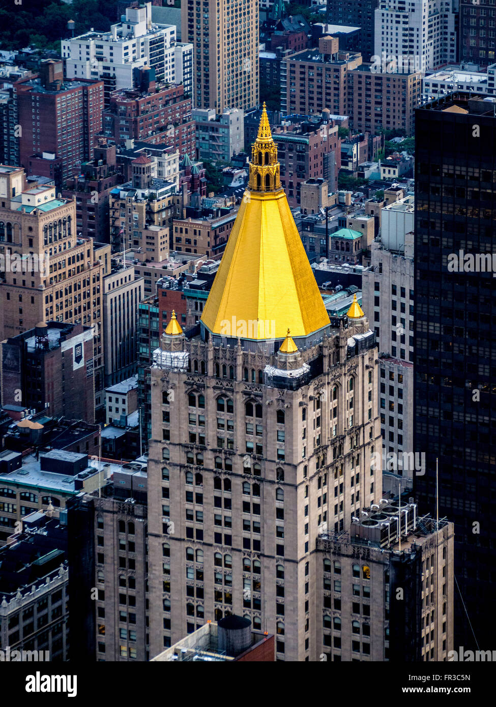 Golden Wallpaper Hd For Mobile View From The Empire State Building Showing New York Life