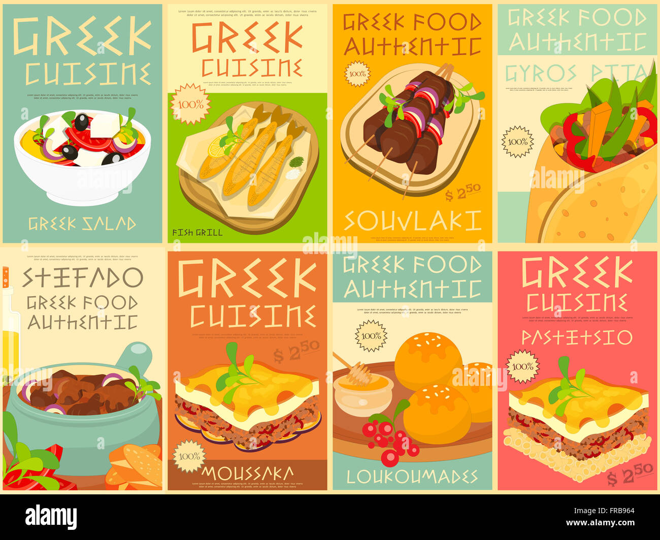 Poster Cuisine Food Posters Stock Photos Food Posters Stock Images Alamy