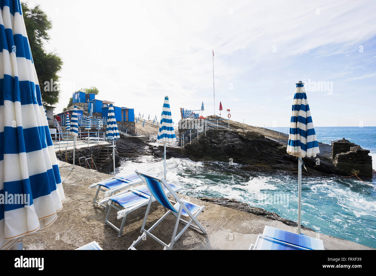 Bagni Scogliera Nervi Open Air Pool Stock Photos And Open Air Pool Stock Images