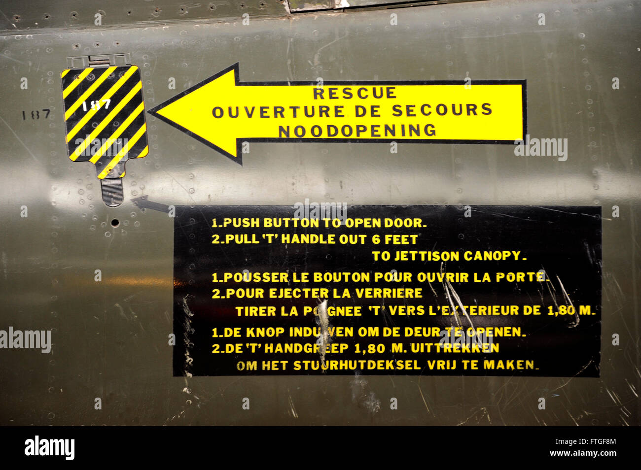 Push To Open Deur Mirage Dassault Royal Museum Of The Armed Forces And Military