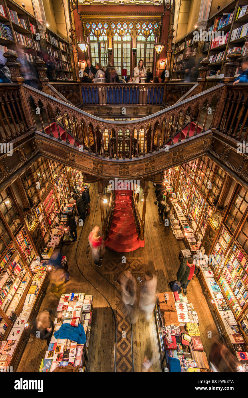 Librería Lello E Irmao Livraria Lello And Irmao Stock Photos Livraria Lello And