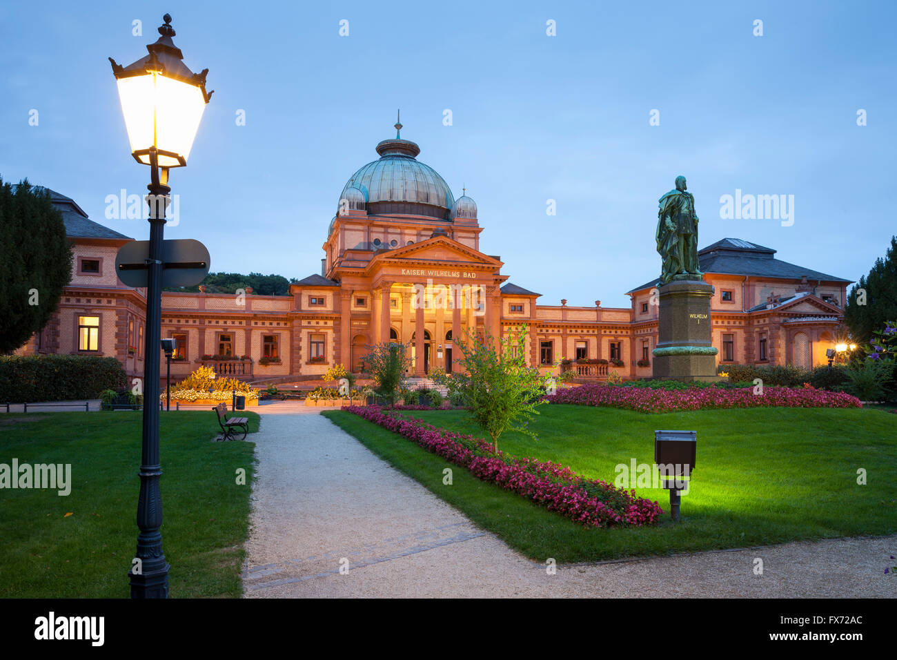 Bad Homburg Kaiser Wilhelms Bad Spa Garden Bad Homburg Hesse Germany