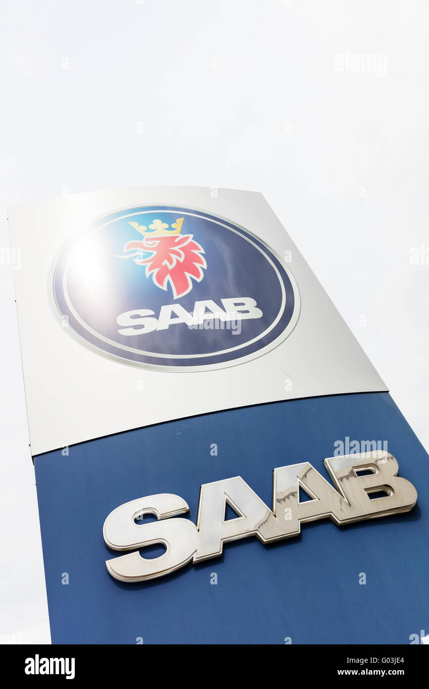 Vehicle Manufacturers In The Uk Saab Car Dealers Sign Vehicle Name Store Manufacturers