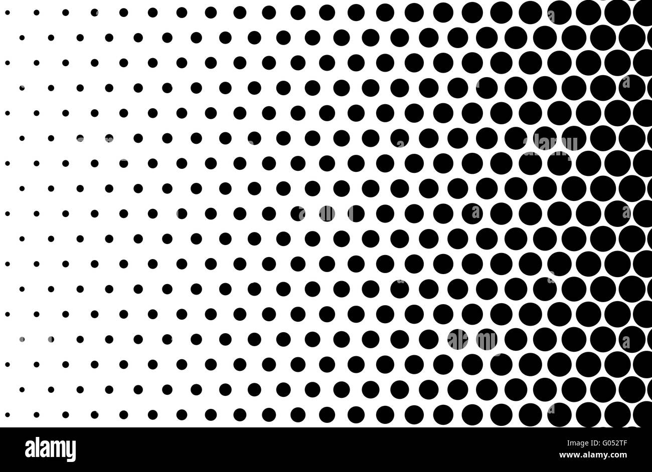 Black Dot Wallpaper Basic Halftone Dots Effect In Black And White Color