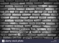 Black And White Brick Wall Pictures to Pin on Pinterest