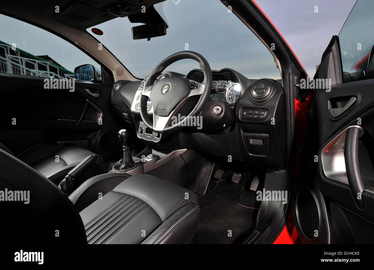 Alfa 147 Interieur Alfa Romeo Interior Stock Photos Alfa Romeo Interior Stock