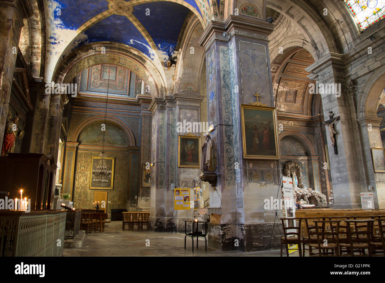 St Remy The Church Of Saint Remy Stock Photos And The Church Of