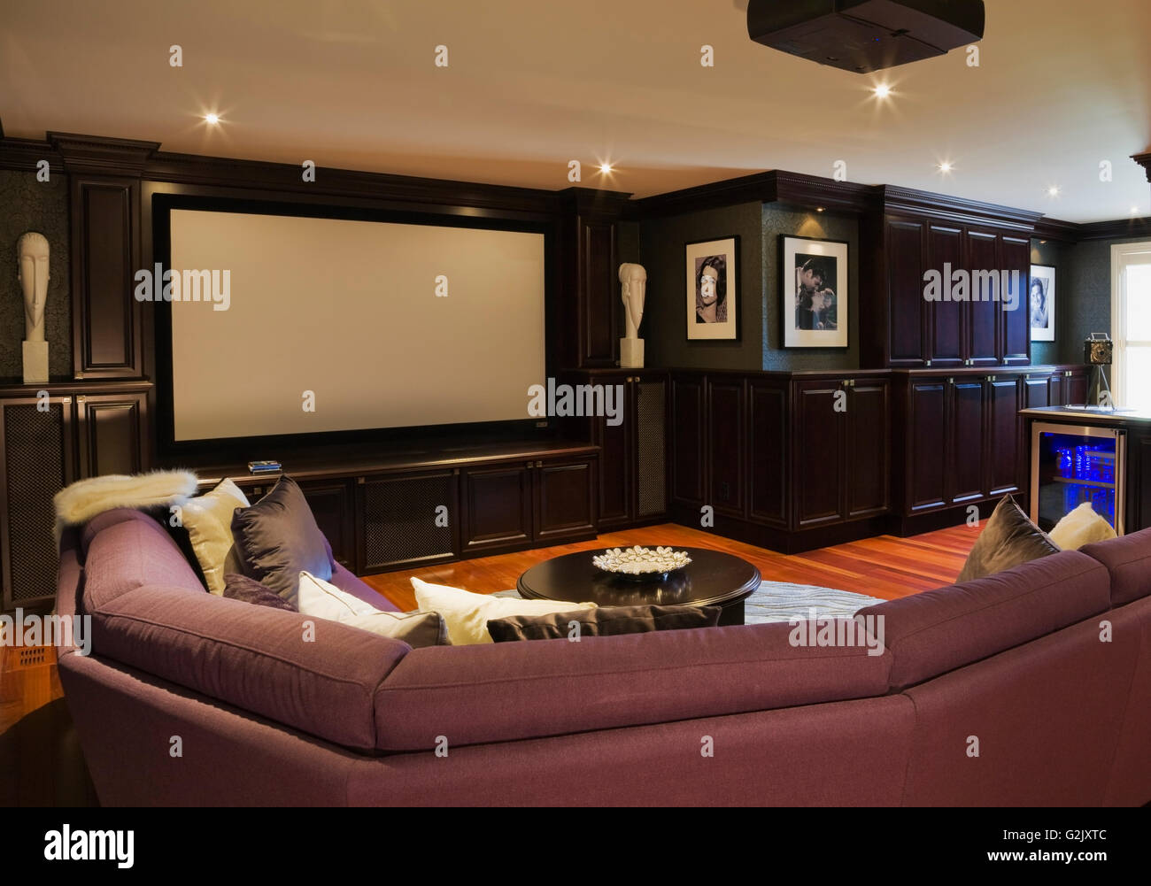 Home Theater Room Home Theater Room Vintage Photos Hollywood Satrs On Upstairs Floor