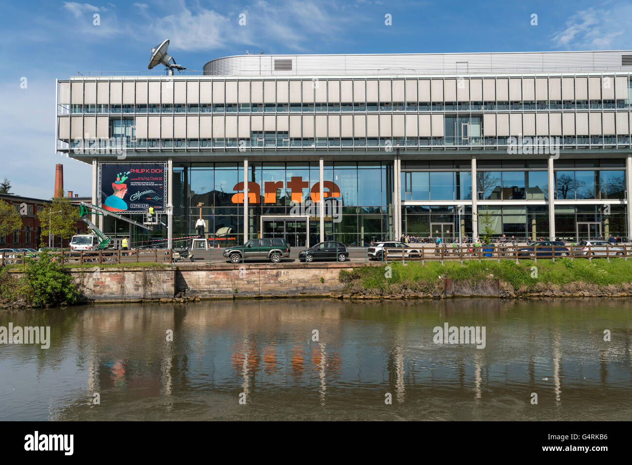 Arte Cafe Strasbourg Arte Television Stock Photos Arte Television Stock Images Alamy