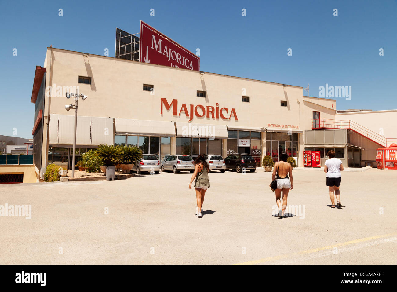Manacor Shopping Center The Majorica Imitation Pearls Factory And Shop, Manacor
