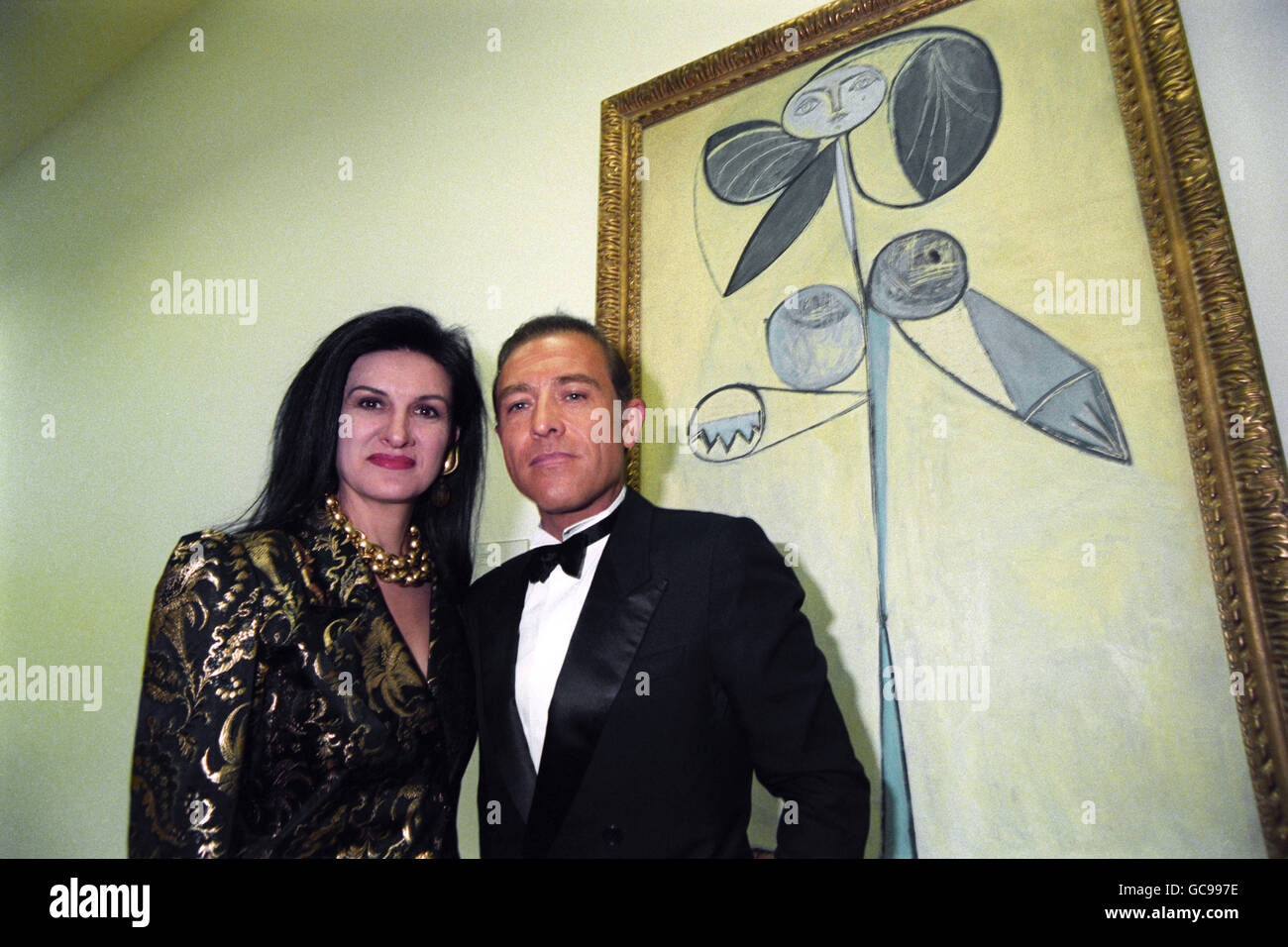 Paloma Picasso Paloma Picasso And Her Husband Stock Photos Paloma Picasso And