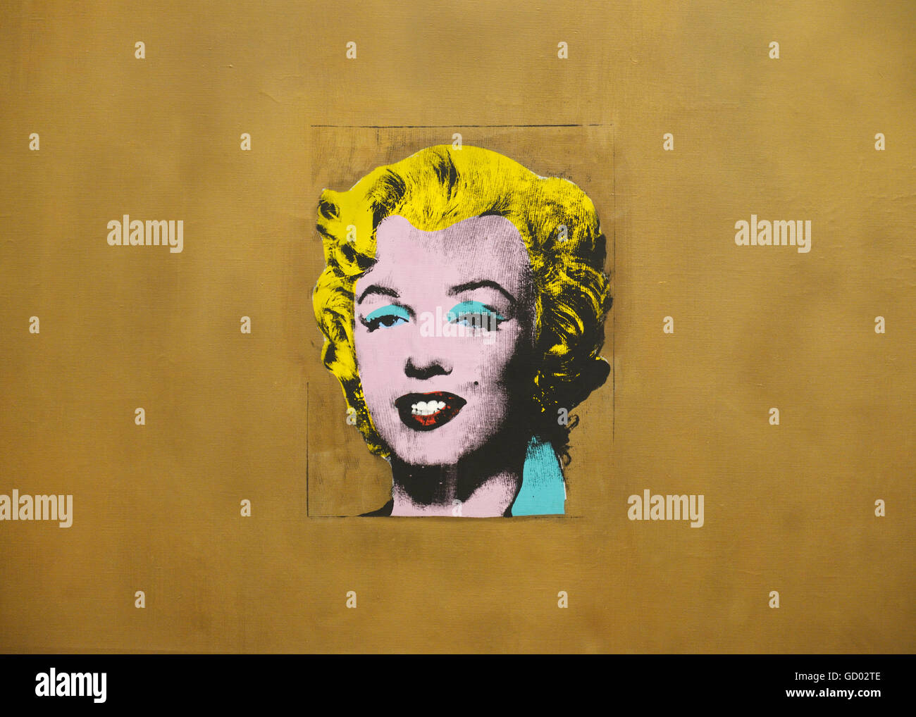 Marilyn Pop Art Andy Warhol Andy Warhol Marilyn Stock Photos And Andy Warhol Marilyn