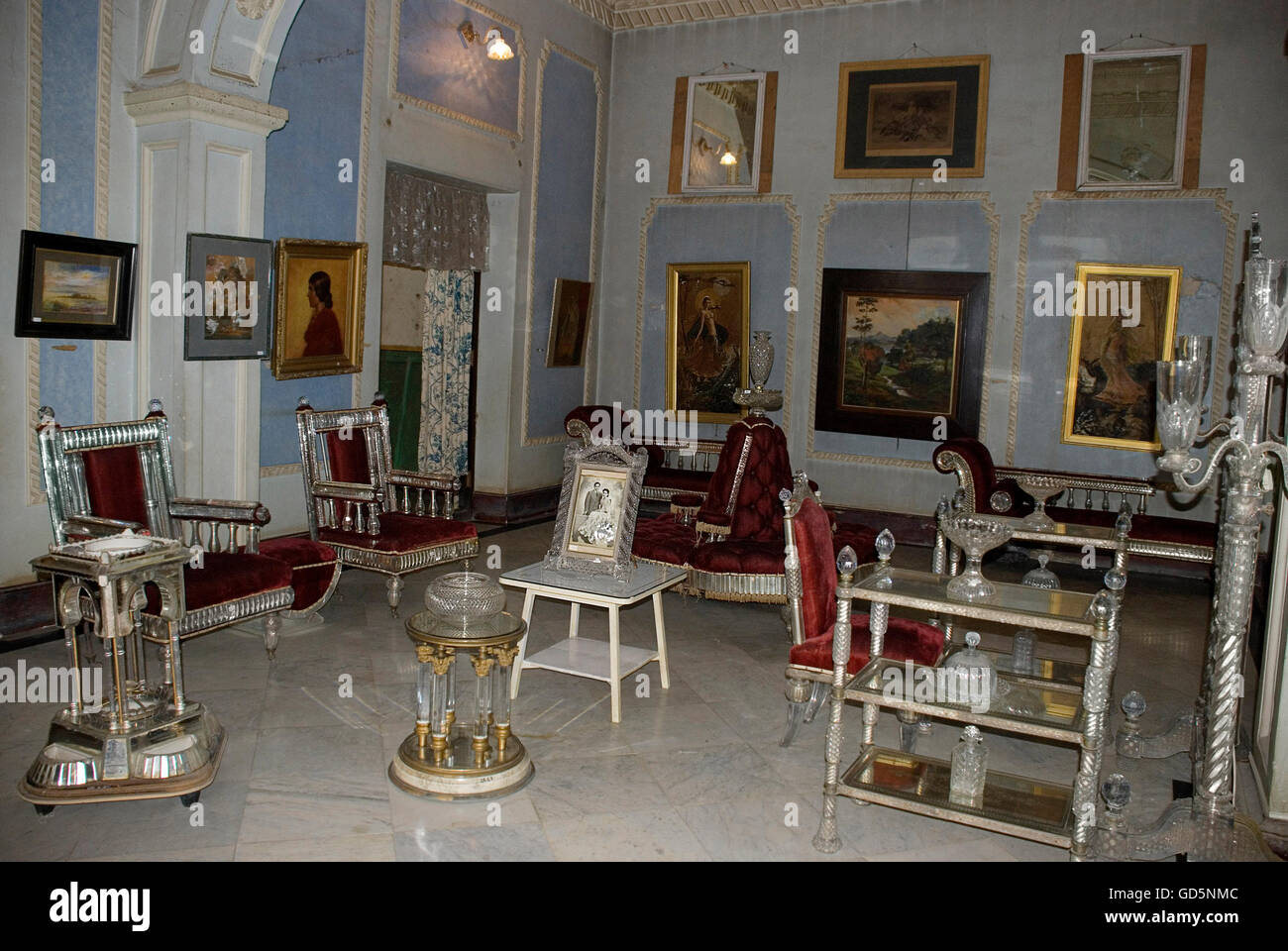 Belgium Glass Furniture Stock Photo Alamy