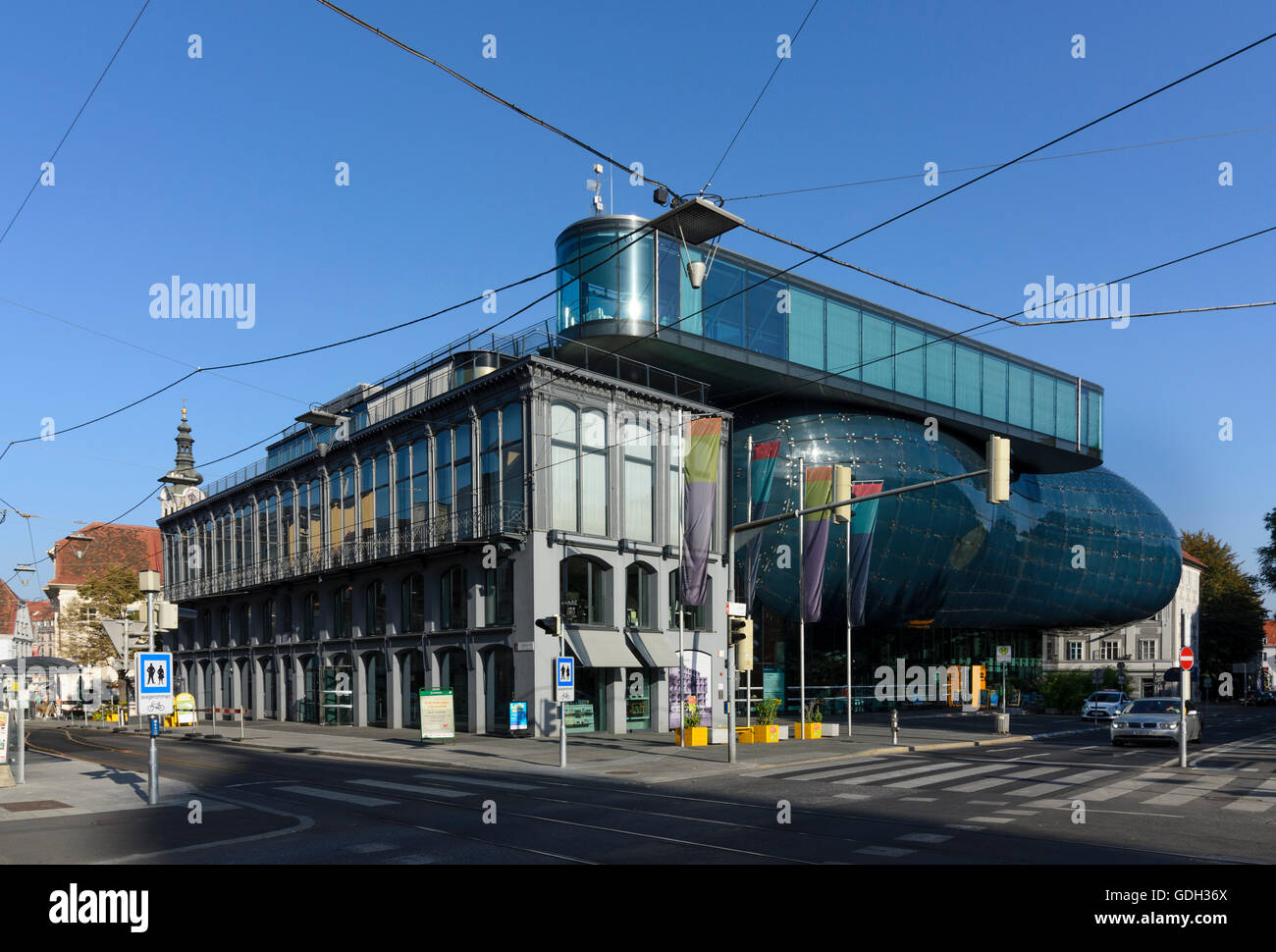 Container Haus Graz Kunsthaus Graz Stock Photos Kunsthaus Graz Stock Images Alamy