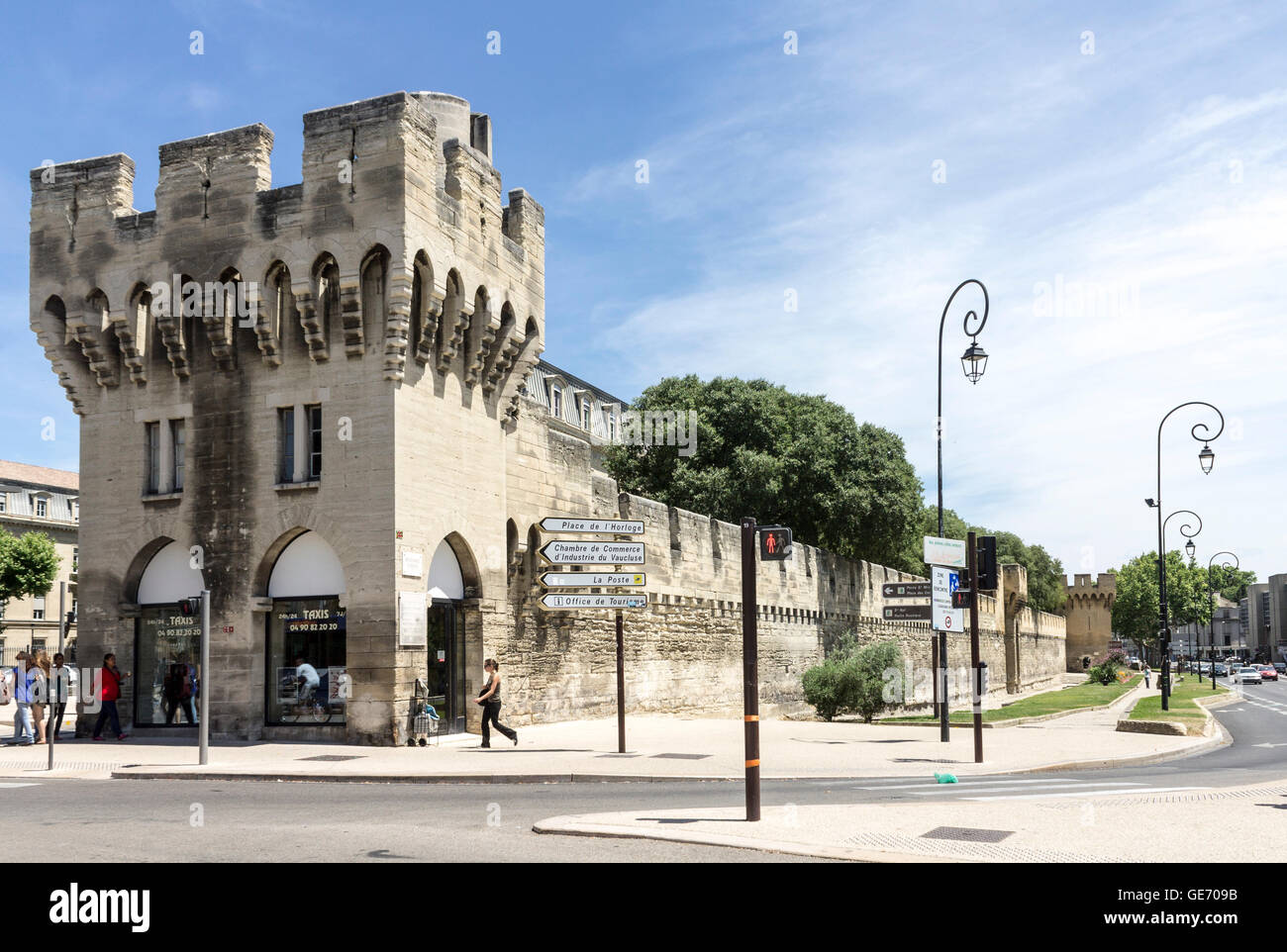 Chambre De Commerce Avignon High Wall Avignon Stock Photos High Wall Avignon Stock Images