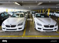 New Cars Port Bremerhaven Germany Stock Photos & New Cars