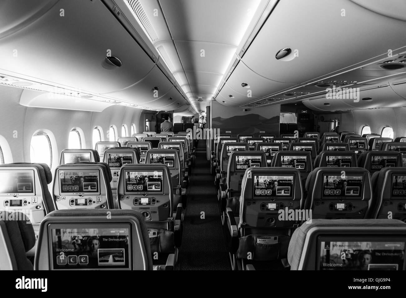 Interieur Airbus A380 Airbus A380 Interior Stock Photos And Airbus A380 Interior