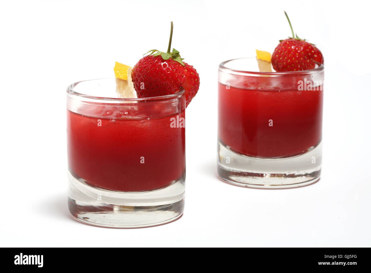Erdbeer Smoothie Erdbeer Smoothie Stock Photos Erdbeer Smoothie Stock Images Alamy