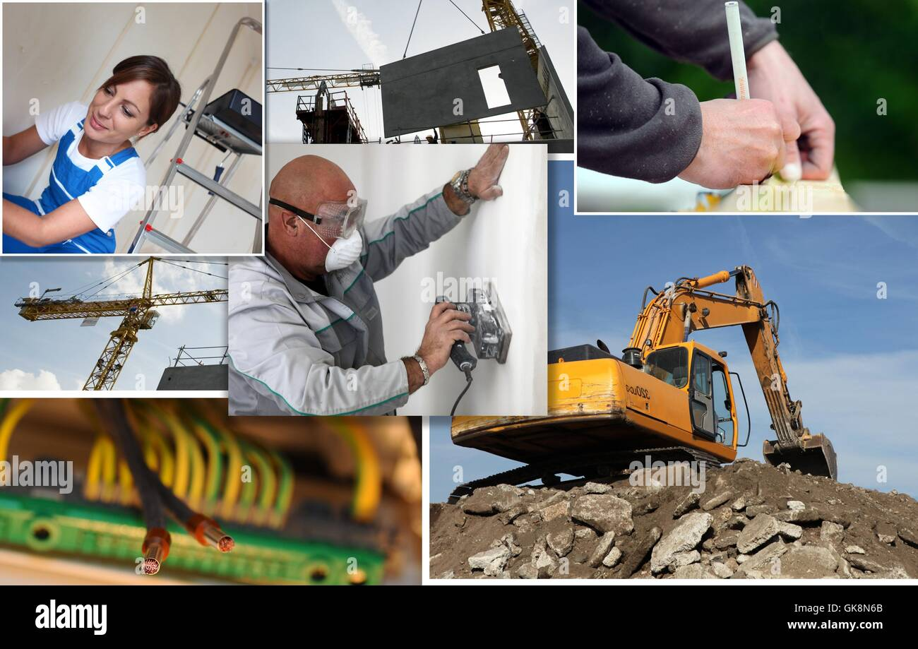 Montage Jobs Montage Building Jobs Stock Photos Montage Building Jobs Stock
